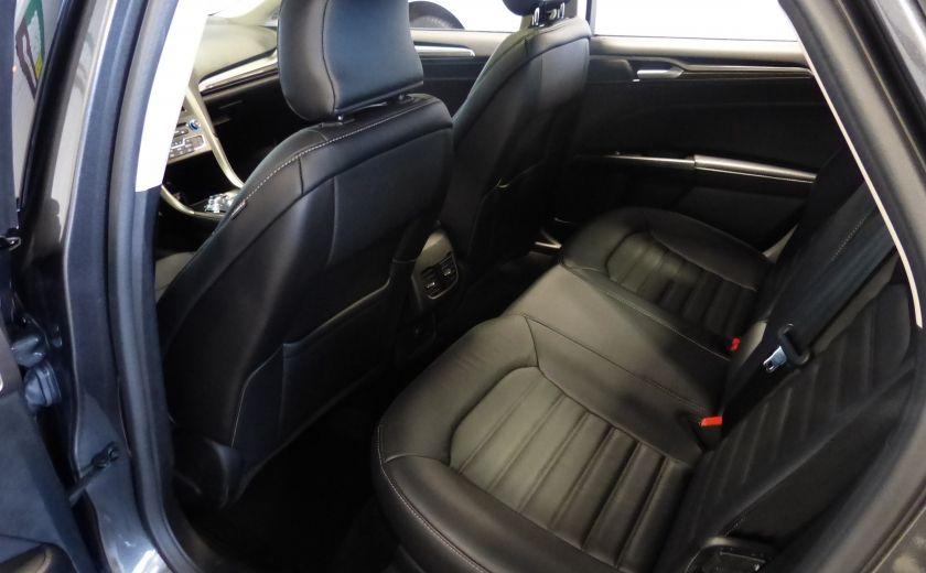 2017 Ford Fusion SE 2.0T AWD A/C Gr-Électrique (Cuir-Nav-Mags) #23