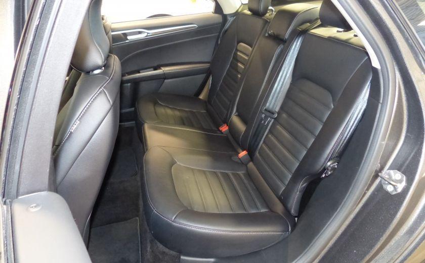2017 Ford Fusion SE 2.0T AWD A/C Gr-Électrique (Cuir-Nav-Mags) #24