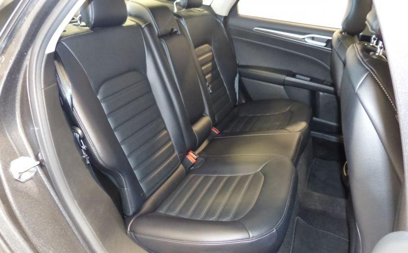 2017 Ford Fusion SE 2.0T AWD A/C Gr-Électrique (Cuir-Nav-Mags) #28