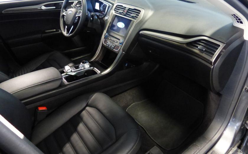 2017 Ford Fusion SE 2.0T AWD A/C Gr-Électrique (Cuir-Nav-Mags) #29