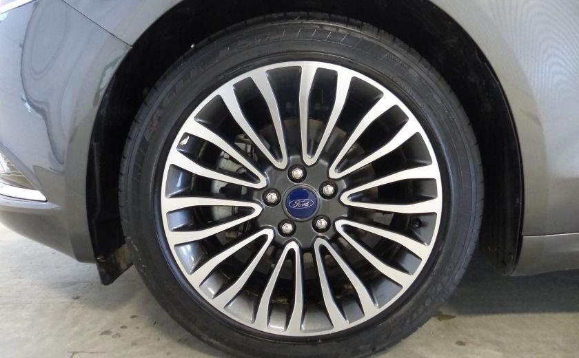 2017 Ford Fusion SE 2.0T AWD A/C Gr-Électrique (Cuir-Nav-Mags) #32