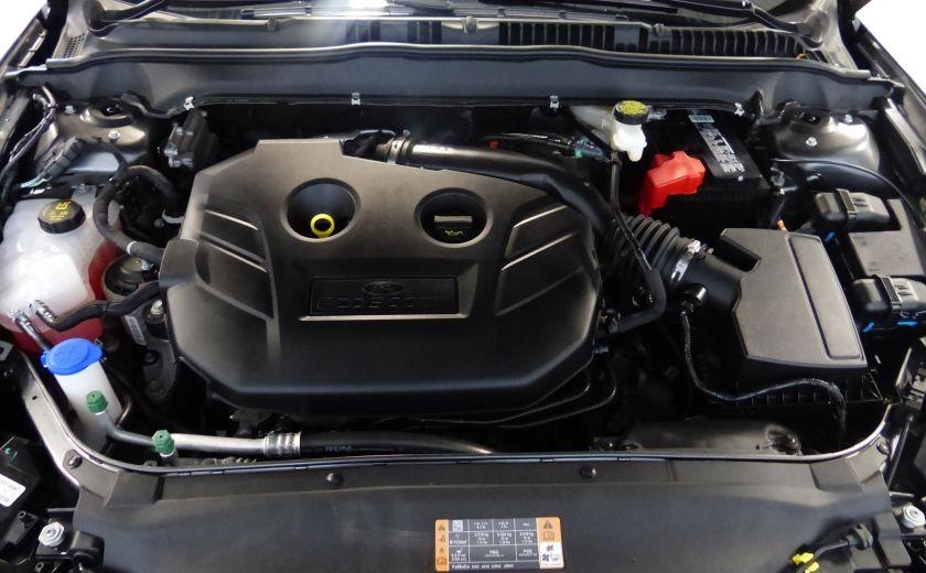 2017 Ford Fusion SE 2.0T AWD A/C Gr-Électrique (Cuir-Nav-Mags) #31
