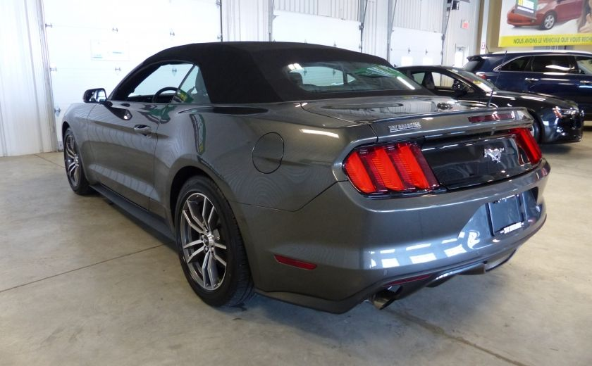 2016 Ford Mustang EcoBoost Premium (CUIR-NAV) A/C Bluetooth #4