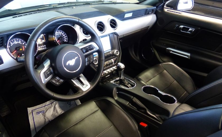 2016 Ford Mustang EcoBoost Premium (CUIR-NAV) A/C Bluetooth #13