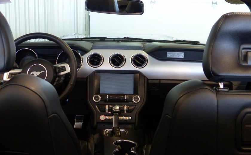 2016 Ford Mustang EcoBoost Premium (CUIR-NAV) A/C Bluetooth #26