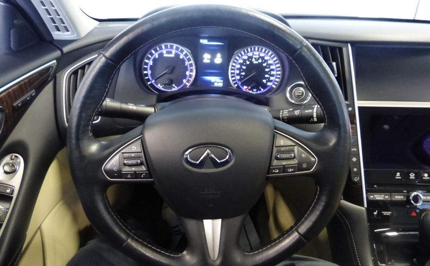 2015 Infiniti Q50 TOURING TECH AWD (Cuir-Toit-Nav) #13