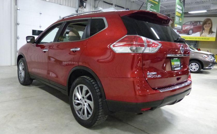 2014 Nissan Rogue SL AWD (Cuir-Toit-Nav) A/C Gr-Électrique #4