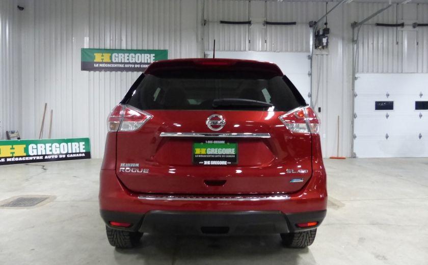 2014 Nissan Rogue SL AWD (Cuir-Toit-Nav) A/C Gr-Électrique #5
