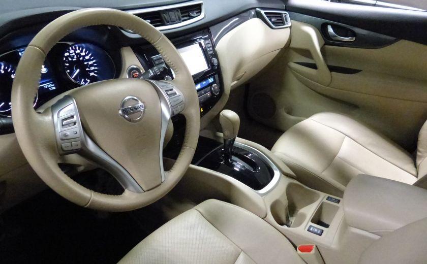 2014 Nissan Rogue SL AWD (Cuir-Toit-Nav) A/C Gr-Électrique #8