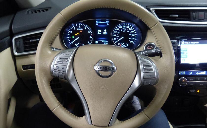 2014 Nissan Rogue SL AWD (Cuir-Toit-Nav) A/C Gr-Électrique #14