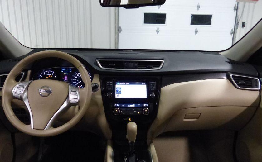 2014 Nissan Rogue SL AWD (Cuir-Toit-Nav) A/C Gr-Électrique #25