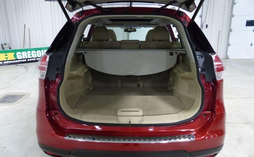 2014 Nissan Rogue SL AWD (Cuir-Toit-Nav) A/C Gr-Électrique #26