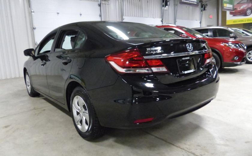 2015 Honda Civic LX A/C Gr-Électrique (Bluetooth-Caméra) #4