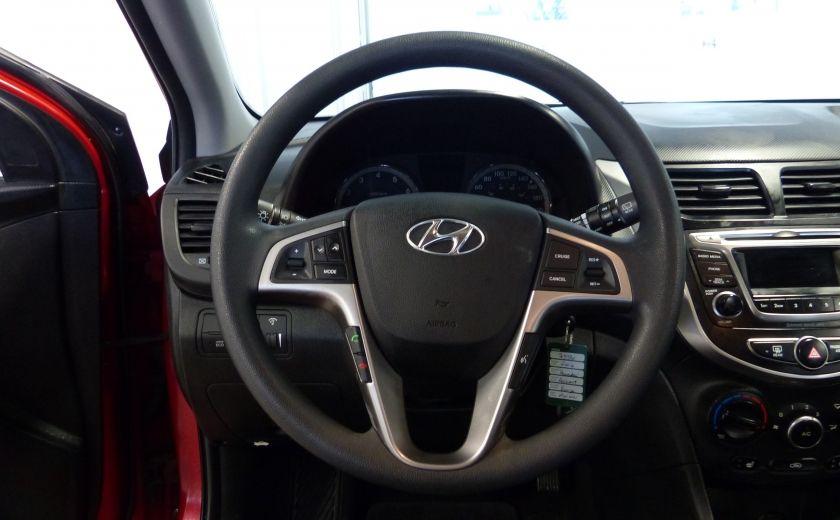2016 Hyundai Accent GL Hackback A/C Gr-Électrique (Bluetooth) #9