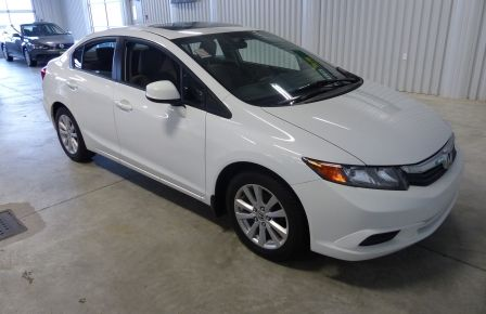 2012 Honda Civic EX TOIT MAGS A/C Gr-Électrique à New Richmond