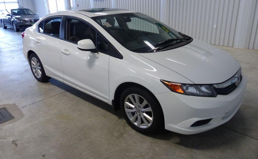 2012 Honda Civic EX TOIT MAGS A/C Gr-Électrique #0