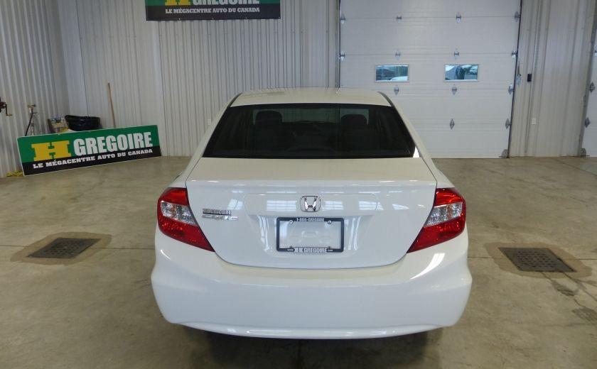 2012 Honda Civic EX TOIT MAGS A/C Gr-Électrique #5