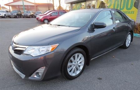 2012 Toyota Camry XLE HYBRIDE,TOIT,MAGS,NAVIGATION,CAMERA RECUL à Abitibi
