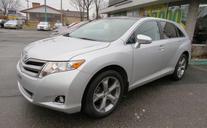 2014 Toyota Venza 4dr Wgn V6 AWD XLE CUIR,MAGS,TOIT PANO,A/C,GR ELEC #0