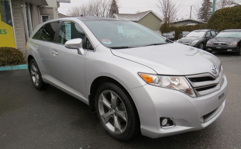 2014 Toyota Venza 4dr Wgn V6 AWD XLE CUIR,MAGS,TOIT PANO,A/C,GR ELEC #2