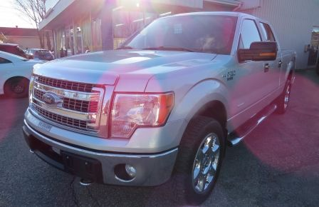 2013 Ford F150 XLT XTR 4X4 A/C MAGS CAMERA GR ELECTRIQUE V6 ECOBO in Estrie