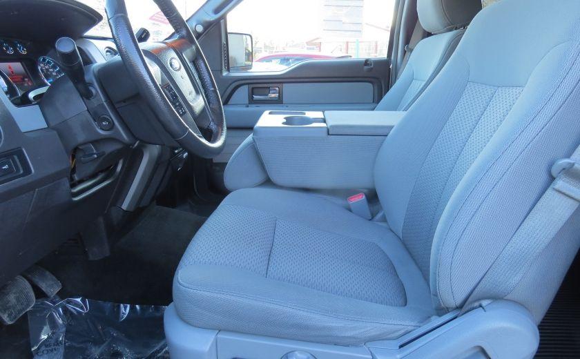 2013 Ford F150 XLT XTR 4X4 A/C MAGS CAMERA GR ELECTRIQUE V6 ECOBO #10
