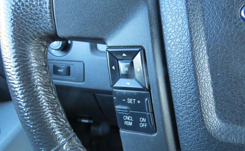 2013 Ford F150 XLT XTR 4X4 A/C MAGS CAMERA GR ELECTRIQUE V6 ECOBO #12