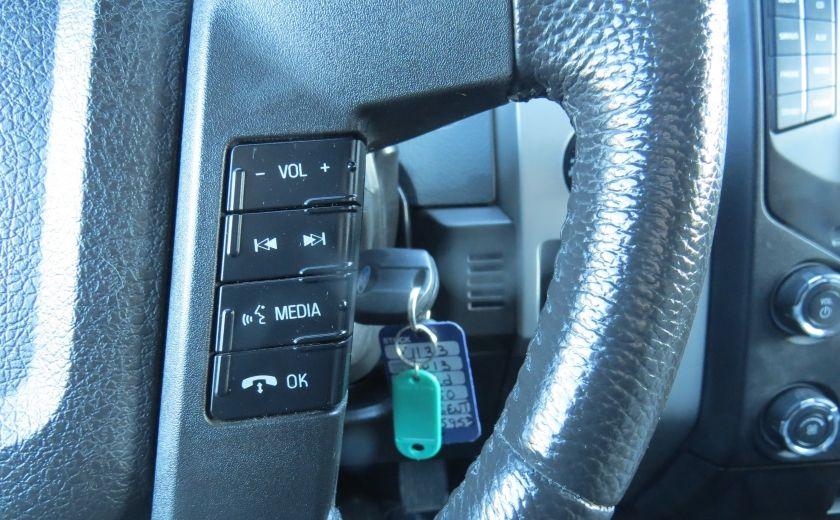 2013 Ford F150 XLT XTR 4X4 A/C MAGS CAMERA GR ELECTRIQUE V6 ECOBO #13