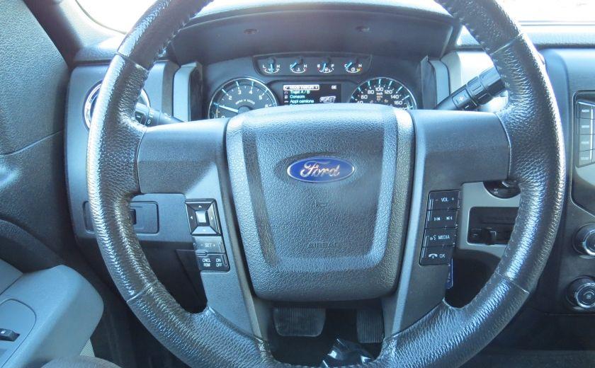 2013 Ford F150 XLT XTR 4X4 A/C MAGS CAMERA GR ELECTRIQUE V6 ECOBO #14
