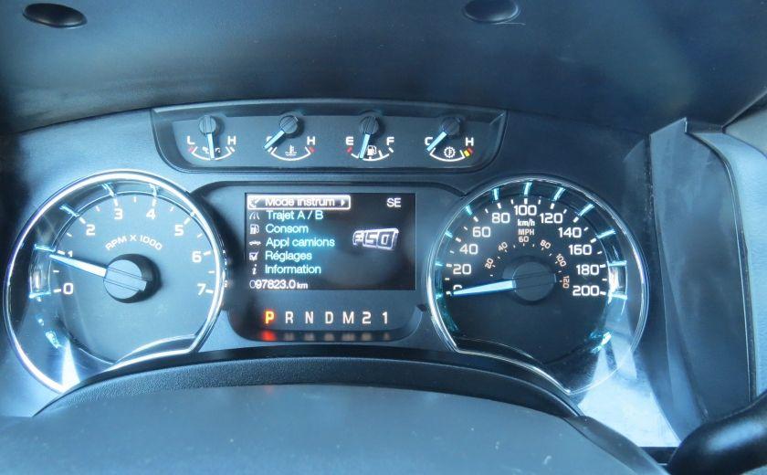 2013 Ford F150 XLT XTR 4X4 A/C MAGS CAMERA GR ELECTRIQUE V6 ECOBO #15