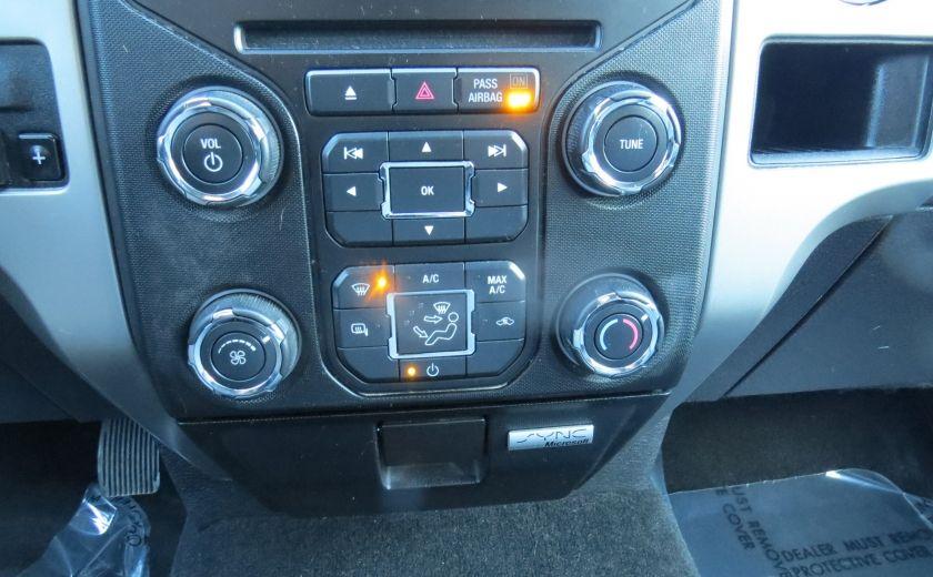 2013 Ford F150 XLT XTR 4X4 A/C MAGS CAMERA GR ELECTRIQUE V6 ECOBO #17