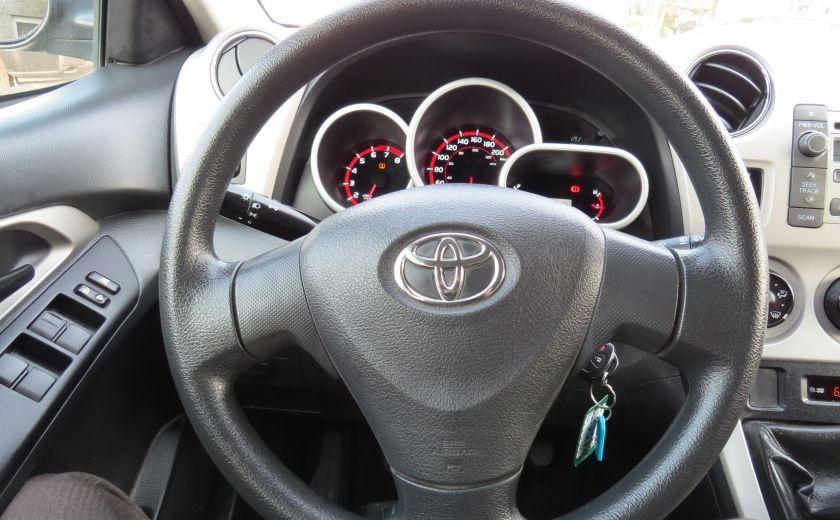 2010 Toyota Matrix 4dr Wgn Man FWD A/C MAGS GR ELECTRIQUE #12