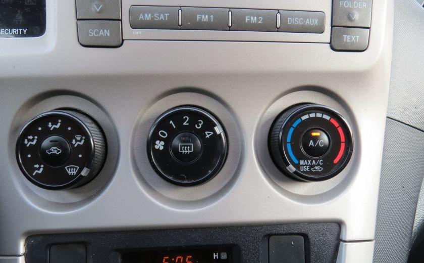 2010 Toyota Matrix 4dr Wgn Man FWD A/C MAGS GR ELECTRIQUE #15