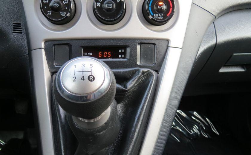 2010 Toyota Matrix 4dr Wgn Man FWD A/C MAGS GR ELECTRIQUE #16