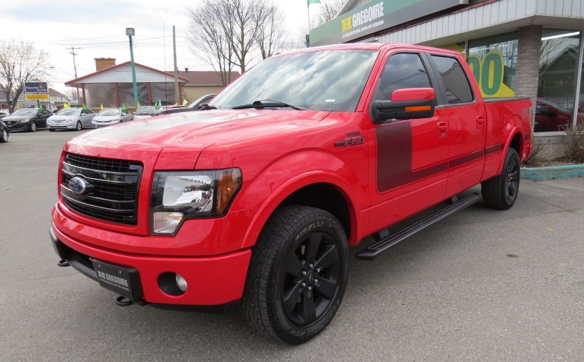 2013 Ford F150 FX4 AUT V6 ECOBOOST 4X4 A/C MAGS GR ELECTRIQUE #0
