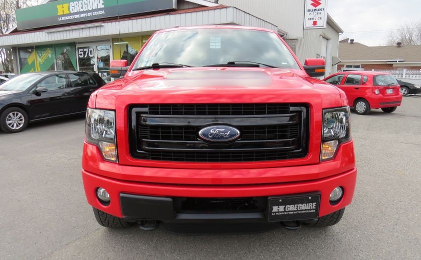 2013 Ford F150 FX4 AUT V6 ECOBOOST 4X4 A/C MAGS GR ELECTRIQUE #1