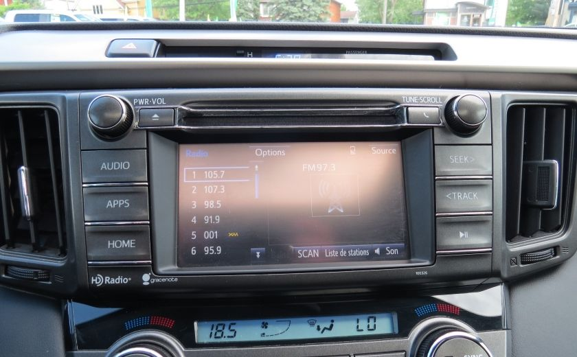 2014 Toyota Rav 4 XLE AUT AWD TOIT MAGS CAMERA A/C GR ELECTRIQUE... #16