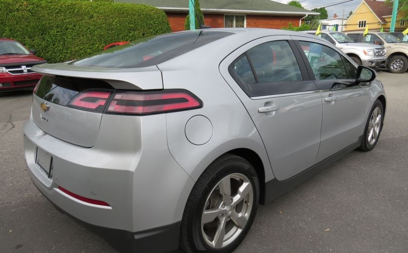 2014 Chevrolet Volt 5dr HB AUT CUIR MAGS A/C CAMERA NAVI GR ELECTRIQUE #4