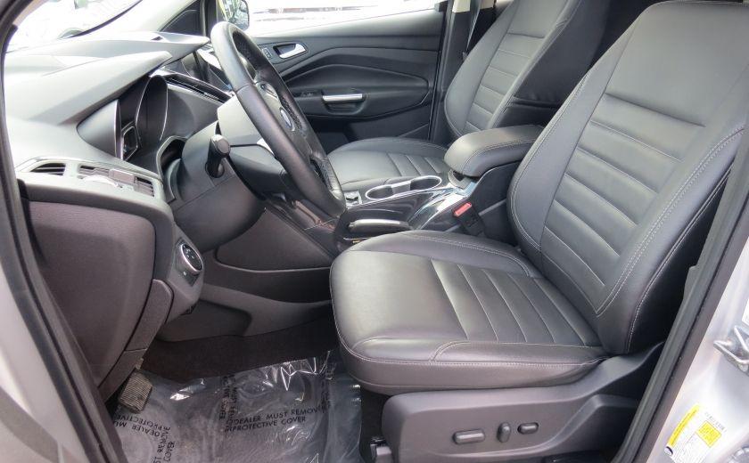 2015 Ford Escape Titanium AUT AWD CUIR MAGS A/C CAMERA GR ELECTRIQU #10