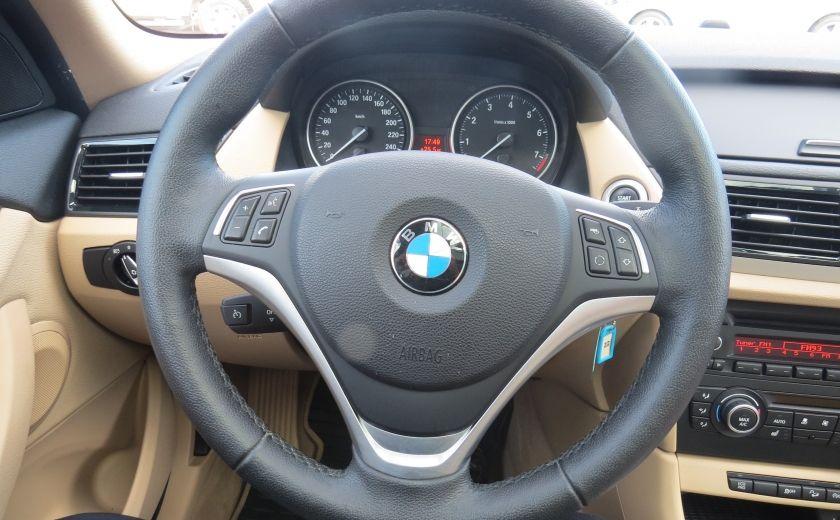 2013 BMW X1 28i AUT AWD CUIR MAGS A/C GR ELECTRIQUE ET PLUS #13