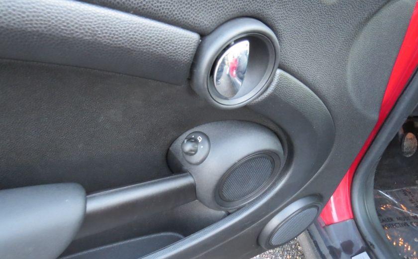 2012 Mini Cooper 2dr Cpe MAN A/C MAGS TOIT PANO GR ELECTRIQUE #7
