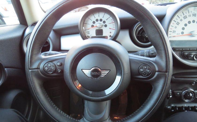 2012 Mini Cooper 2dr Cpe MAN A/C MAGS TOIT PANO GR ELECTRIQUE #11