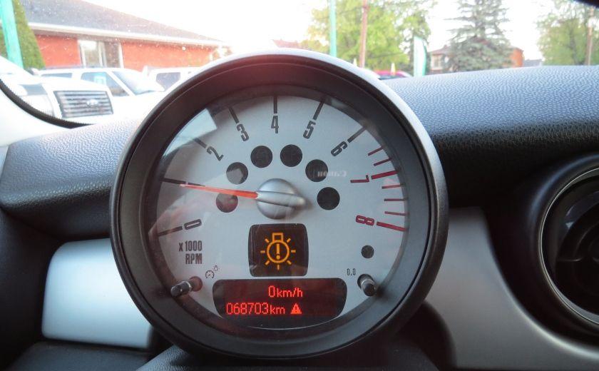 2012 Mini Cooper 2dr Cpe MAN A/C MAGS TOIT PANO GR ELECTRIQUE #12