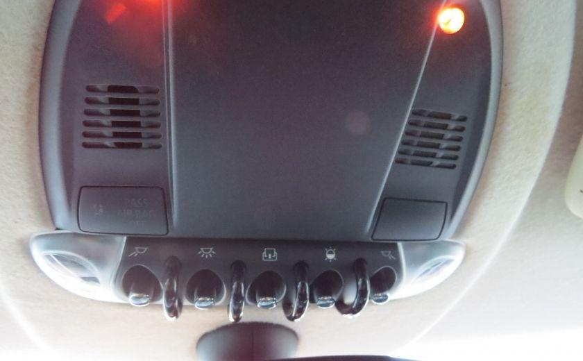 2012 Mini Cooper 2dr Cpe MAN A/C MAGS TOIT PANO GR ELECTRIQUE #16