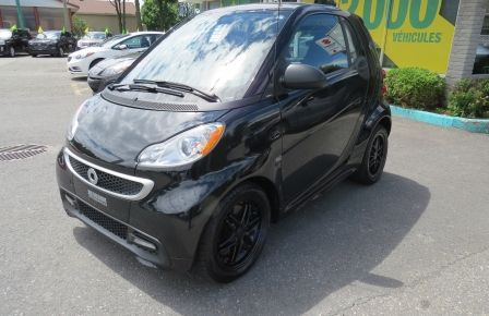 2013 Smart Fortwo Passion AUT A/C MAGS TOIT PANO GR ELECTRIQUE in Drummondville