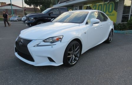 2014 Lexus IS250 F SPORT AWD AUT CUIR MAGS A/C GR ELECTRIQUE... in Carignan