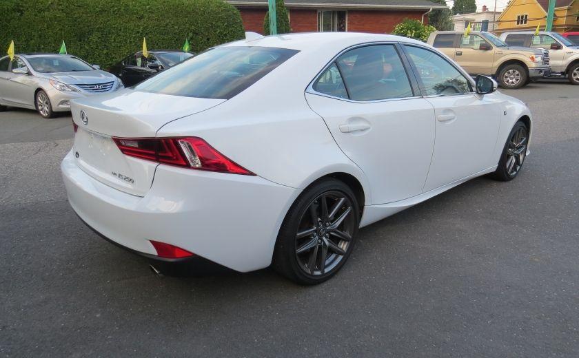 2014 Lexus IS250 F SPORT AWD AUT CUIR MAGS A/C GR ELECTRIQUE... #4