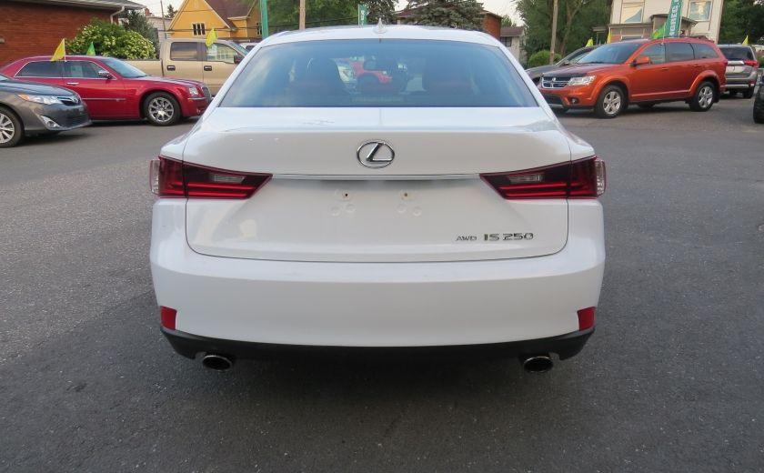 2014 Lexus IS250 F SPORT AWD AUT CUIR MAGS A/C GR ELECTRIQUE... #5