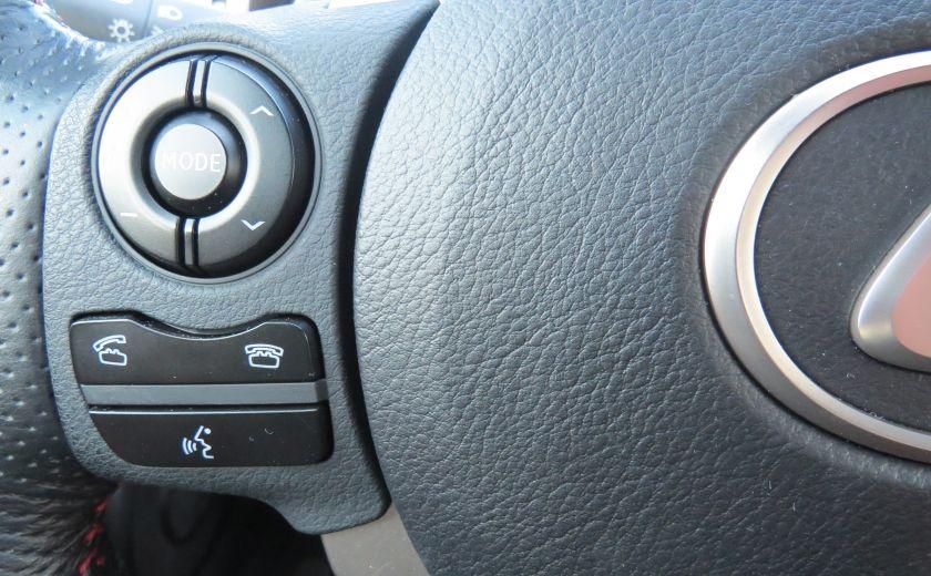 2014 Lexus IS250 F SPORT AWD AUT CUIR MAGS A/C GR ELECTRIQUE... #13