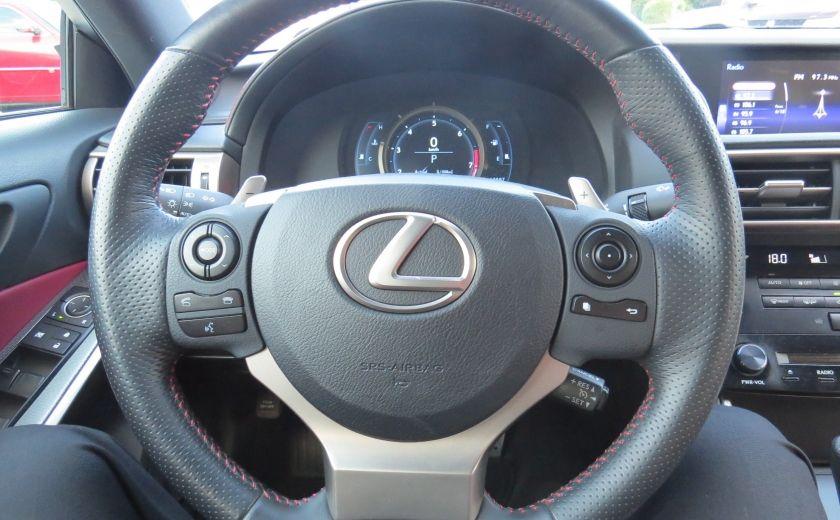 2014 Lexus IS250 F SPORT AWD AUT CUIR MAGS A/C GR ELECTRIQUE... #14